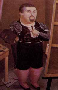 Fernando Botero Self-Portrait
